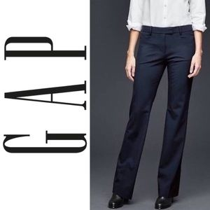 GAP Modern boot cut dress pants in charcoal gray